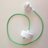 Cordon plafonnier tissu