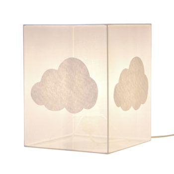 Lampe à poser organdi nuage
