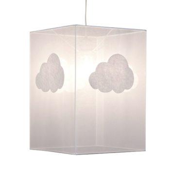 Plafonnier organdi nuage
