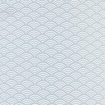 Plafonnier vagues grises nuage gris pastel