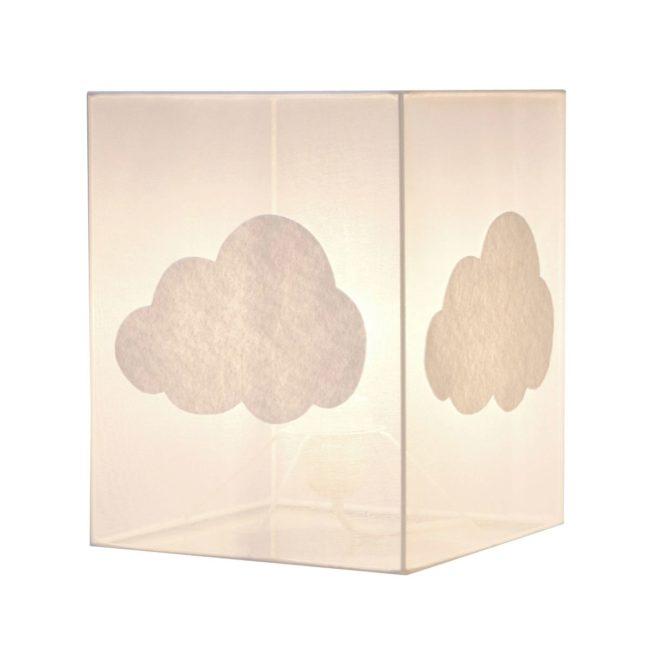 Lampadaire organdi nuage