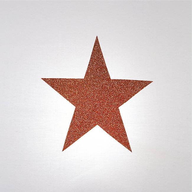Lampadaire coton blanc étoile pailletée